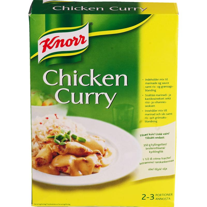 Knorr Chicken Curry Knorr Chicken Curry 324 g