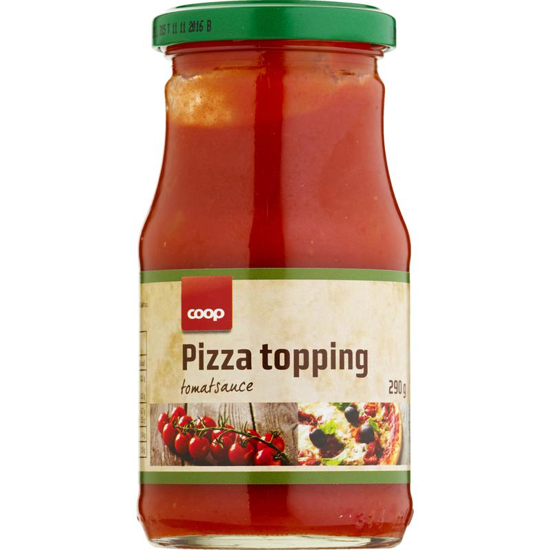 Coop Pizza Topping Tomatsauce 290 G